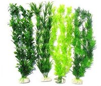 Wholesale 4PCS kinds mixed aquarium fish tank grass seeds water Aquatic