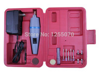 Wholesale Mini Hand Drill Grinding Machine Kit with Box Pack of Miniature Electric Engraving Tool Drill order lt no track