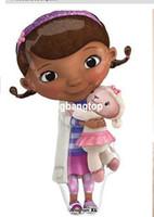 doc mcstuffin - 2014 New Arrival Cartoon Movie Doc McStuffin Plush Toys Doc McStuffins Plush Doll cm Lambie Plush cm Set