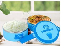 Wholesale Cute Keep Food Warm Hello Kitty Pink Lunch Box Layers Stainless Steel Inner Double Deck Thermal Bento Box For Picnic Children
