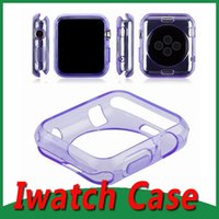 Wholesale 38mm mm Soft Ultra Thin Transparency Clear TPU Rubber Gel Case Invisible Armor Cover Skin for Apple Watch case