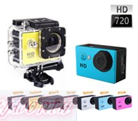 DV - A8 GoPro Waterproof Sport DV HD Camera Digital Camcorder Gopro Novatek P fps MP H Inch LCD CAR DVR