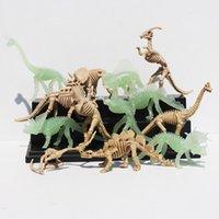 Wholesale Dinosaur Train Figures Jurassic Park PVC Action Figure Toys Jurassic Dinosaur Fossil Tyrannosaurus Toy Doll cm
