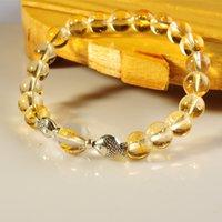 Cheap Beaded, Strands natural Stone Bracelet Best South American men women natural Citrine Bracelet