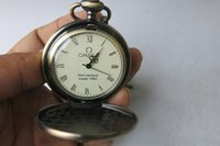 antique golf - Rare Old Qing Dynasty royal BRASS GLASS clock mechanical Pocket watch golf can work with mark