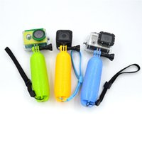 camera hand grip - Diving Bobber Floating Hand Grip for Gopro hero4 session SJ4000 Xiaomi yi camera accessories GP307