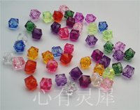 beaded ring kits - Diy handmade beaded material acrylic bead transparent fang zhu imitation crystal beads mm material kit