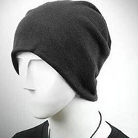 Wholesale new autumn winter hat scarf dual purpose colours men and women solid cheapest combination fabric fashion tank104