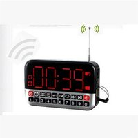 Universal cheap mini computer - Mini Digital Speaker with Alarm Clock TF Card Player Cheap Home Subwoofer Support FM Radio Good Sound Portable Speakers HYX141