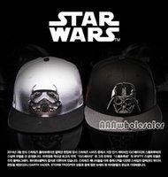 Wholesale new STAR WARS snapback BBOY Letter Baseball Caps hip hop snapback hiphop Hats for men and women