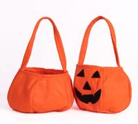 best hand bags wholesale - Hallowmas Christmas Pumpkin Bag Kids Handbags Childrens Bags Boys Girls Handbag Best Handbags The Handbag Hand Bag Fashion