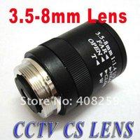 b w ccd camera - 3 mm CS CCTV IR Lens manual Vari Focal fixed Iris for quot and quot CCD color B W Camera