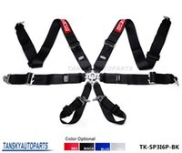 Wholesale TANSKY Camlock quot SP Strap Point Quick Release Racing Seat Safety Belts Harness Default color is Black TK SP3I6P BK