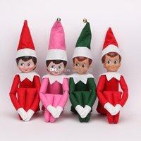 elf on the shelf - 10pcs Christmas Elf Toy On The Shelf Plush Dolls Boy Girl Figure Boys and Girls Gift for Children