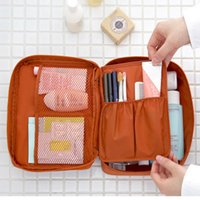 Wholesale Korean Style monopoly travel wash bag with a large capacity storage bag multifunction cosmetic storage packets travel cosmetics case