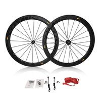 Road Bikes carbon bicycle wheel set - 2015 top sale Mavic cosmic carbon wheels mm mavic wheels k weave bicycle wheelset C road bicycle wheels mm rim