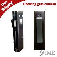 Wholesale new Spy Hidden Chewing Gum Camera Mini USB Video Audio Recorder Webcam hidden DVR support GB GB GB GB memory card in plastic bag