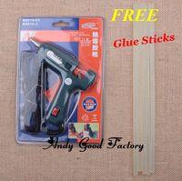 Wholesale 100 V New W Heating Hot Melt Glue Gun Glue Sticks For Art Craft Album Repair Tool
