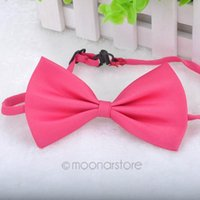 Wholesale High Quality Popular Style PC Cute Sugar Color New Fashion Pet Bowknot Tie Bow Necktie Collar Pet Clothing for Dog Cat Puppy