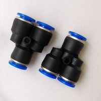 Wholesale 10pcs Pneumatic Air Fitting mm to mm to mm Y Shape Quick Fitting Connector PY