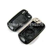 Wholesale Flip Car Key Shell For Hyundai I30 IX35 Button Remote Control Car Key Cover For Hyundai key housing