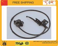 Wholesale 110cc cc Hydraulic front disc brake assy brake level master cylinder set brake hoses dirt pit mokey bike CRF TTR DHZ order lt no track