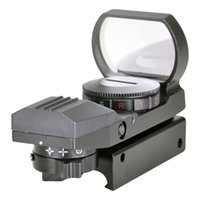 Wholesale 4 Red Green Dot Reticle Tactical Reflex Electro Dot Sight Scope with Mount for Gun
