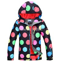 Cheap Wholesale-2015 snow ski suit waterproof ski jacket women polka dot snowboard jacket skis coat warm chaquetas de esqui