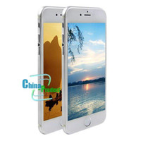 Wholesale 5 quot Goophone i6 plus i6 Quad Core MTK6582 GB G Android Jelly Bean W Camera GPS WiFi G WCDMA Smart Phone