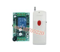 Wholesale 2015newLong Distance M DC V A CH Wireless Remote Control Transmitter Receiver Modul Toggle Momentary Relay Switch