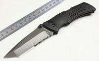 ka-bar - Cool KA BAR HRC mm serrated blade aluminum handle Gift TOOL Camping hunting pocket Survival knife knives Christmas Gift SFF258