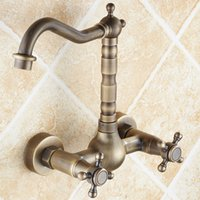 antique copper bathtub - For the hundreds bathtub faucet antique copper basin set wall mixing valve rotating