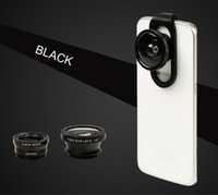 Cheap 4 in 1 Camera Lens Fish Eye Wide Angle Macro Cell Phone Lens For Iphone Samsung Mobile Phones