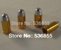 Wholesale High quality metal bullet design brass material car wheel tire valve cap air dust cap stem promotion