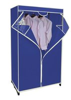 Wholesale PORTABLE CLOSET STORAGE WARDROBE HANGER CLOTHES GARMENT