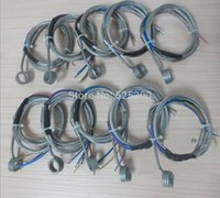 Wholesale DHL Coil Heater Hot Runner Coil Heater ID mm Height mm V250W Thermocouple K with Stainless Steel Braid