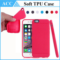anti skid backing - New Design Fashion Anti Skid Case For iPhone Plus Soft TPU Shockproof Back Cover Colorful Back Skin High Quality Free DHL