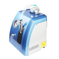 acne treatment clinic - Mini portable in SPA aqua hydro facial water peeling dermabrasion device for salon and clinic use