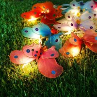 baby sleep tent - Colorful Butterfly night light baby sleep room tent small decorative lamp m light pled paragraph paragraph Butterfly DIY