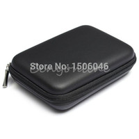 Wholesale Classic Black Hard Carry Case Cover Pouch for USB External WD HDD Hard Disk Drive Protect Protector Bag Enclosure