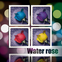 3d pictures - DIY Diamond Painting Pasting D Cross Stitch Kit Water Rose Home Mural DIY Diamond Picture cm dhl