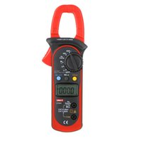 Wholesale UNI T A AC DC Auto Range Digital Clamp Multimeter w Voltage Resistance Frequency Test UT203 Multimetro dandys