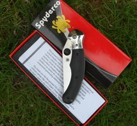 knife blades - Spyderco C173 Folding Knife S30V Satinless Blade G10 Handles pocket kinife gift kinife