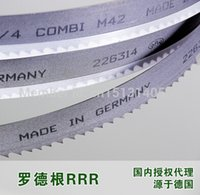 Wholesale s Luo Degen RRR stainless steel saw blade M42 double metal machine with a band saw blade