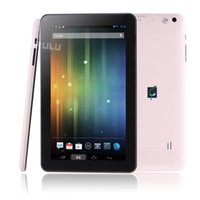 Wholesale US Stock inch Tablet PC Android ALLwinner A33 Quad Core Dual Camera GHZ MB GB WIFI Tablets Capacitive Screen