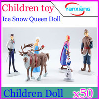 Cheap DHL 50PCS Ice and snow country doll The princess and the prince's love story Toys children tell a story YX-JJ-33