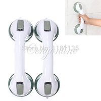 bath safety handle - Super Shower Support Grab Bar Grip Suction Cup Tub Bath Bathroom Safety Handle