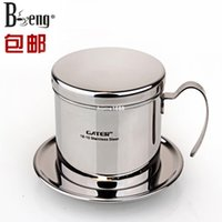 area filter - F T GATER Vietnamese stainless steel coffee pot pot drops trickling filter cup cup stainless steel pot limit area free email