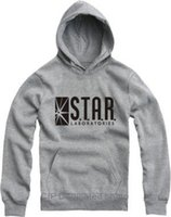 american laboratory - American drama gotham city comic books The flash hoodies star laboratories sweatshirts star labs pocket pullover sudaderas