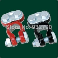 battery terminal switch - 2pcs Auto Battery Terminal Disconnect Switch Link Universal Fit For Forklift New order lt no track